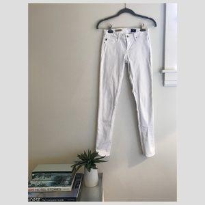 AG Legging Ankle White Jean